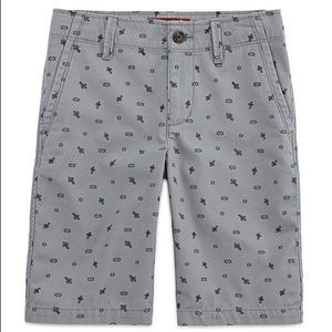Arizona Jeans Boy Gray Shorts!